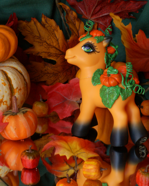 'Patch' a MLP Pumpkin Custom by wylf