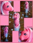 Pink Champagne- a Custom Sea Pony