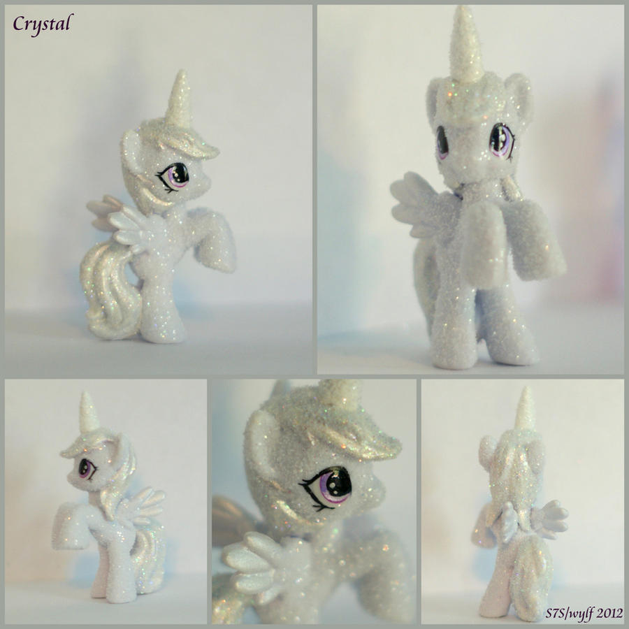 MLP blind bag custom- Crystal by wylf