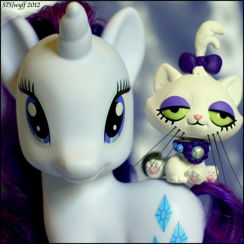 LPS-MLP Crossover, Rarity and Custom Opalescence by wylf