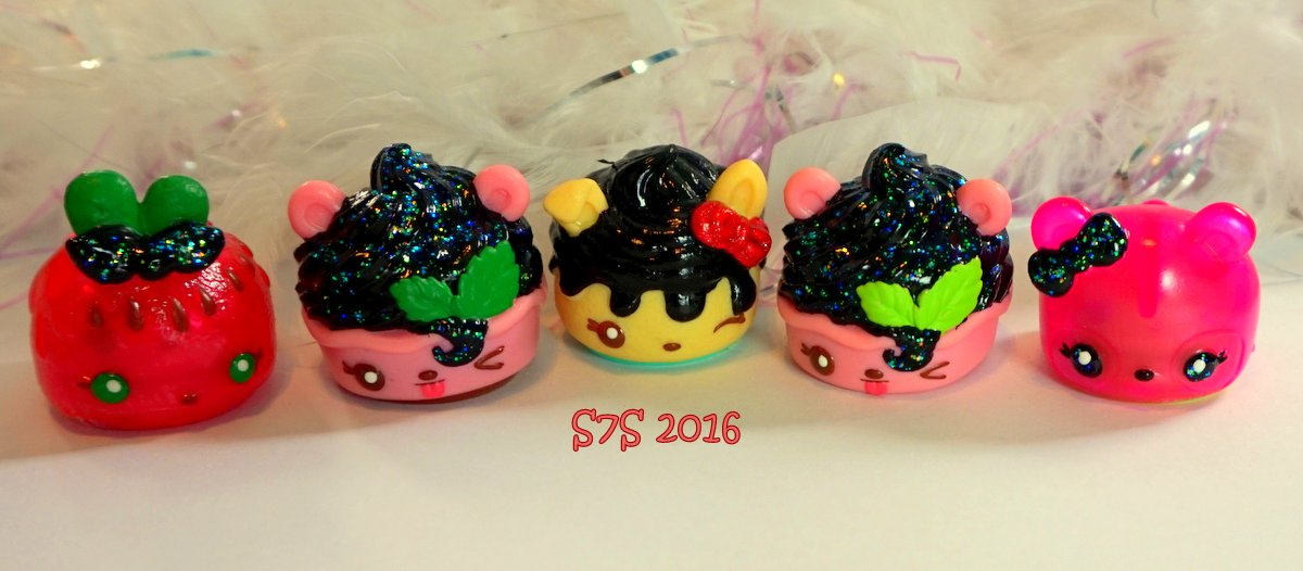 Glittery Num Noms Customs by wylf