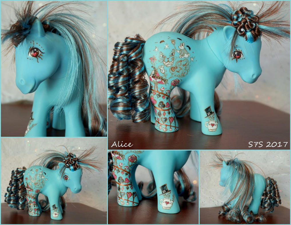 'Alice' a G1 Wonderland Custom MLP by wylf