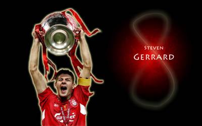Steven Gerrard Celebration by heatherlump
