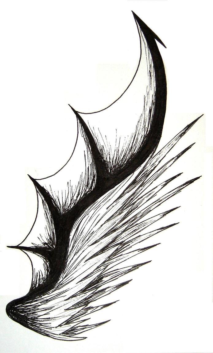 Dark Angel Wing by xXFoxGuardianxX on DeviantArt
