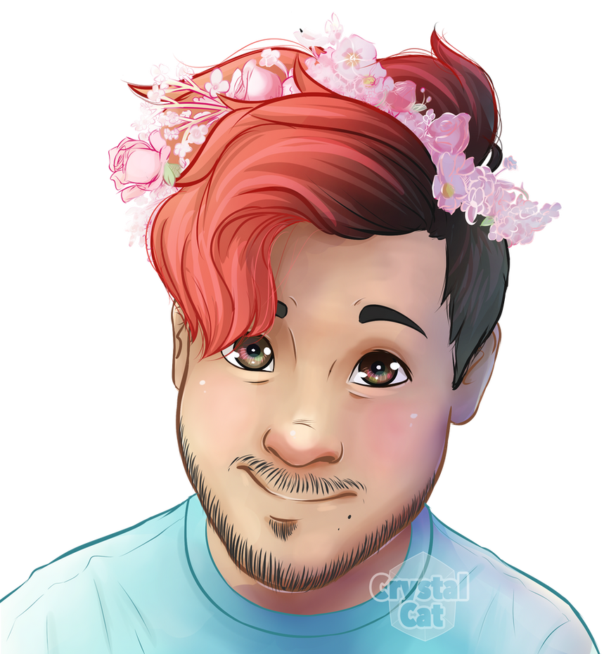 Mark flower crown