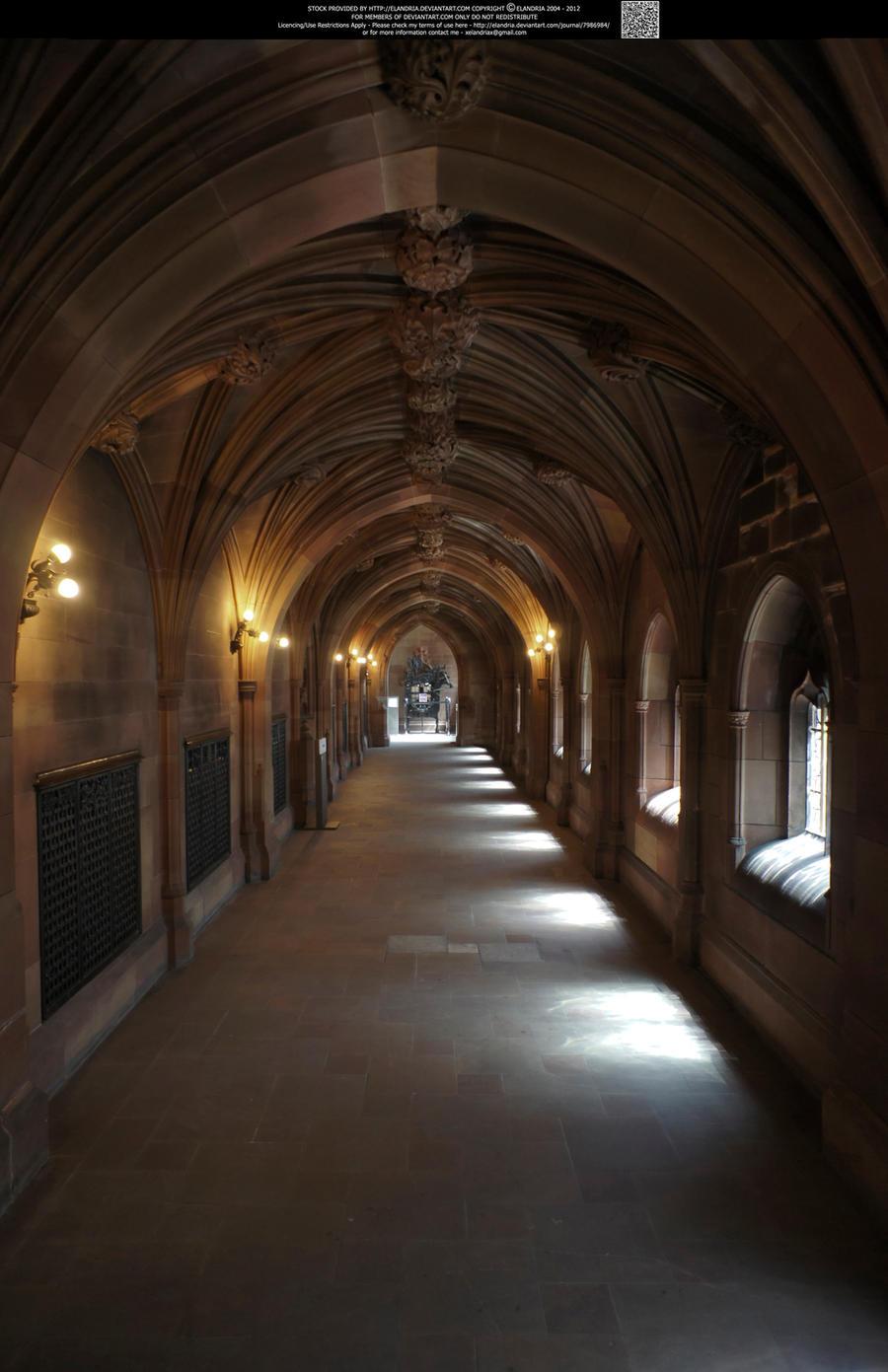 These Hallowed Halls 10 by Elandria