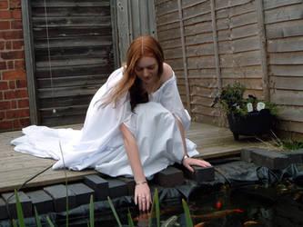 White Dress Stock 2 by Elandria