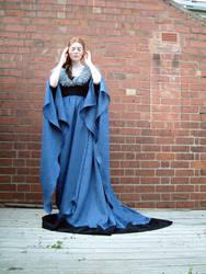 Blue Dress Stock 4 by Elandria