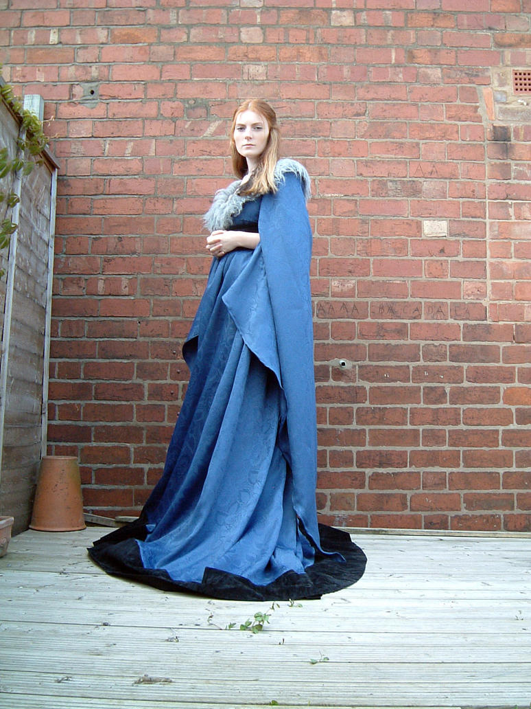 Blue Dress Stock 5 by Elandria