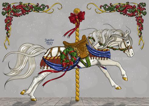 Seasons Greetings Carousel Jupiter