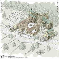 Tincture Abbey Stables Isometric Map