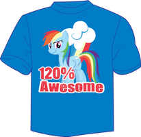 120 percent awesome