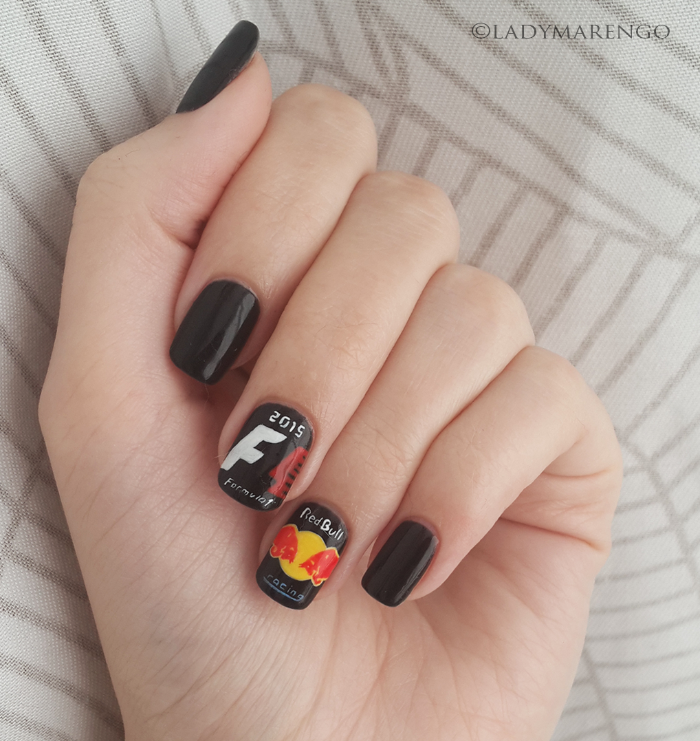 Nail Art Ideas » Racing Nail Art - Pictures of Nail Art Design Ideas