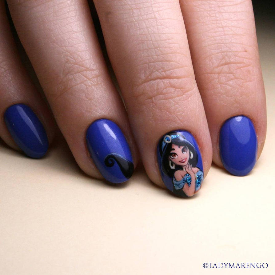Jasmine Nails by ladymarengo on DeviantArt