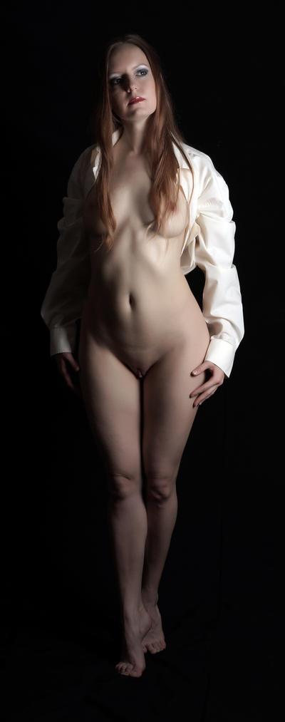 white shirt 2 by BlackOldCat