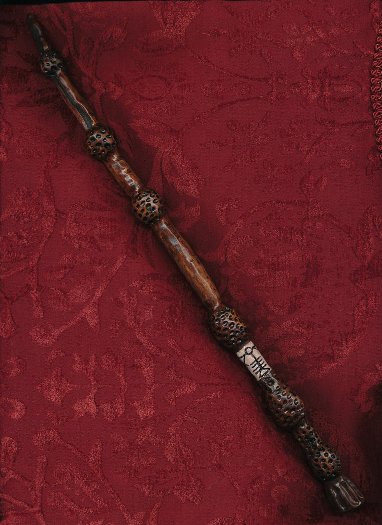 Elder wand by rabbit of the sun on deviantart for Elder wand runes