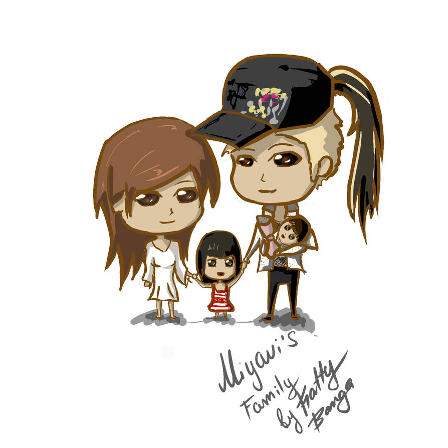 Miyavi S Family By Kattybanga On Deviantart