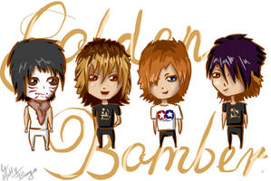 Golden Bomber by KattyBanga
