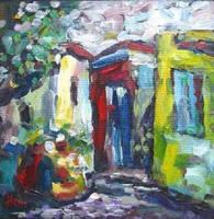 The Fruit Seller by HeinVDMArtist