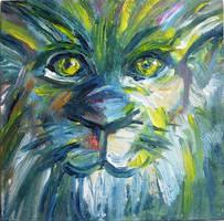 Lion by HeinVDMArtist