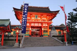 Fushimi Inari Shrine by YuffieV