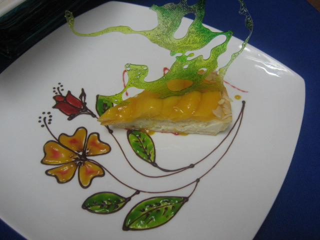 fresh mango tart by m0im0i