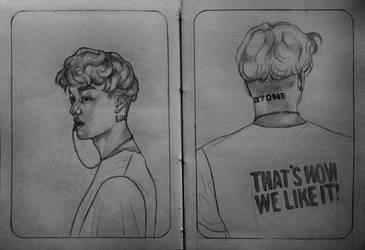Kai | Lucky One | Sketch by DianaMoris