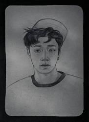 Zhang Yixing | Lucky One | Sketch by DianaMoris