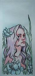 Flower Girl | 1 of 3 by DianaMoris