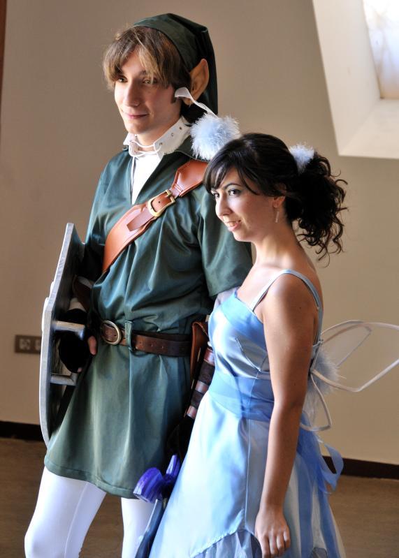 Link and navi costume