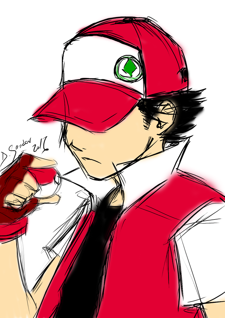 Red Sketch by DSenderM