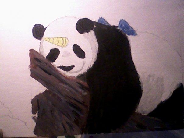 Pandacorn by AishaTheWeirdo