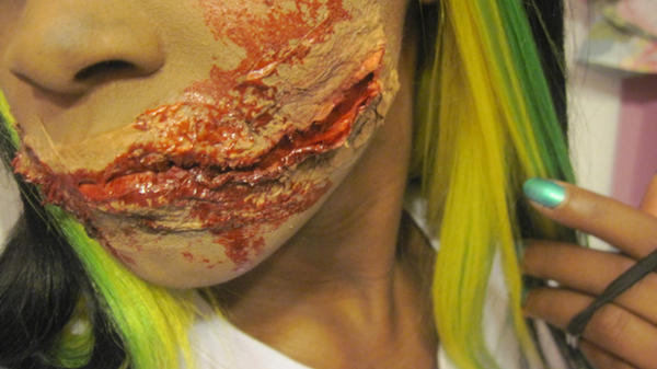 Liquid Latex Chelsea Smile by AishaTheWeirdo on DeviantArt