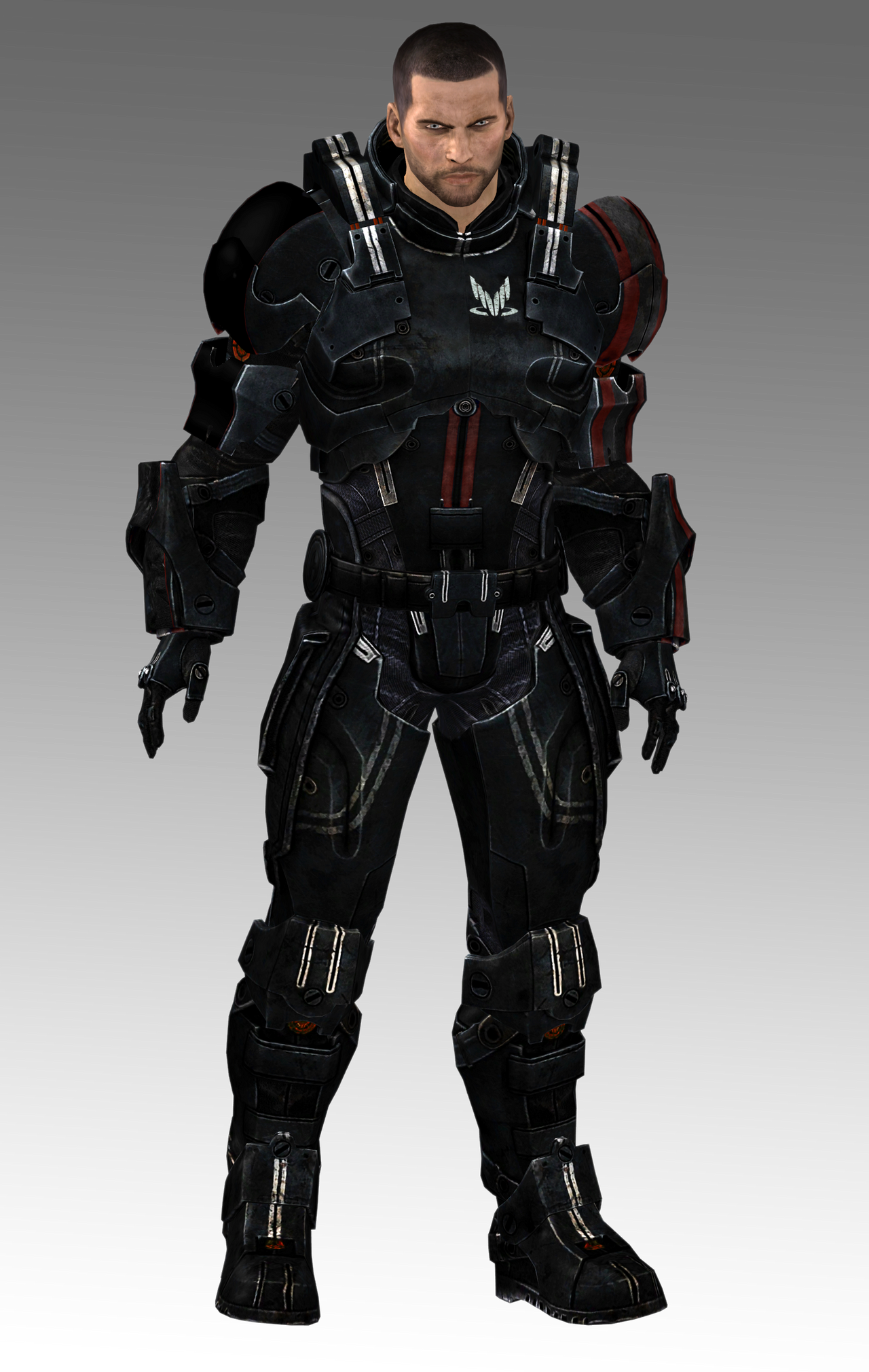 Spectre Defender Armor (available for download!) by Nightfable