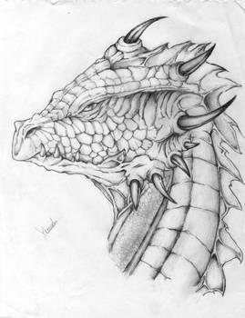 Pencil dragon