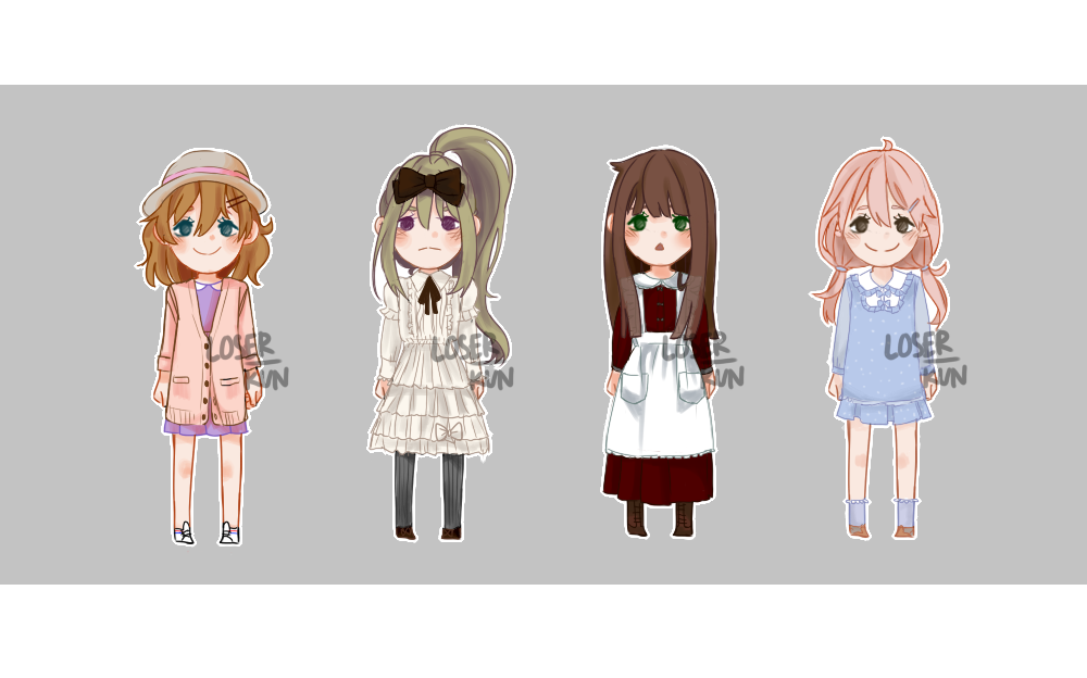 01 OPEN ADOPTS by loserkun