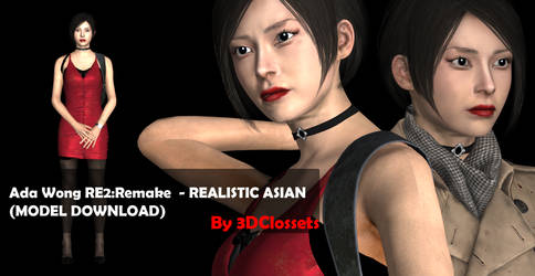 RE2Remake - Ada Wong - REALISTIC (DL)