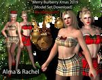 DOA Alma / Rachel - Merry Burberry Xmas 2019 [DL] by 3DClossets