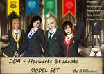 DOA - HP Hogwarts Students - MODEL SET! ~[RELEASE] by 3DClossets