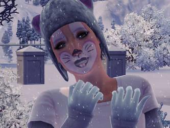 Bunny On Winter! by ViriCC