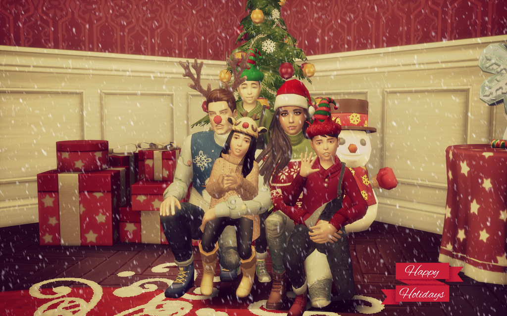 My legacy x-mas photo :D by ViriCC