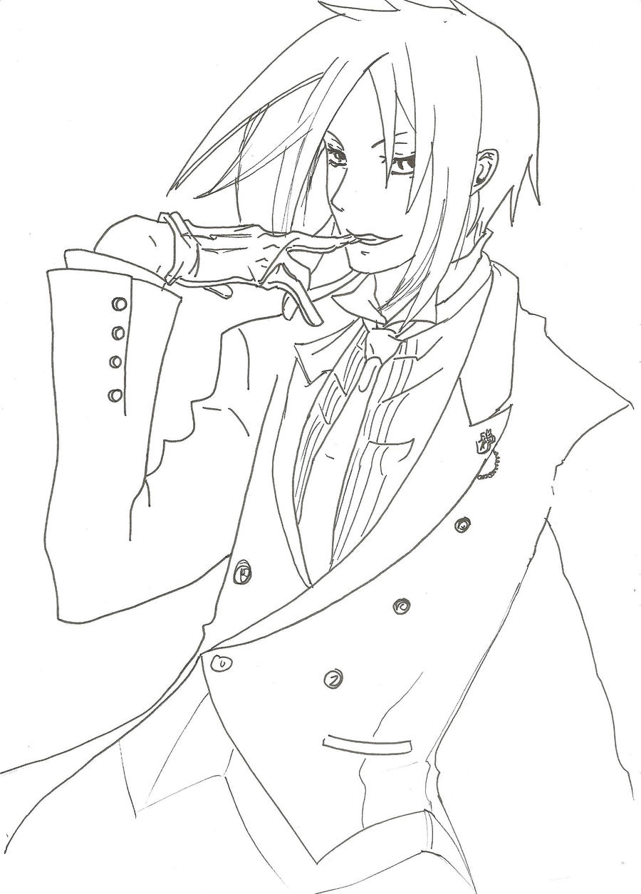 black butler by ookami00717 black butler by ookami00717 - Black Butler Chibi Coloring Pages