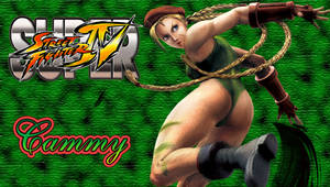SSFIV Cammy PSP Wallpaper