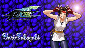 KOF XIII Yuri PSP Wallpaper