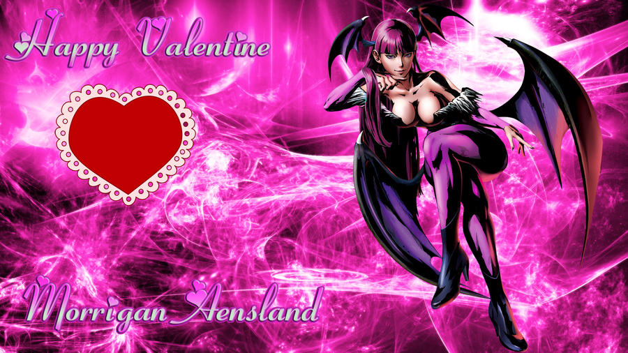 MvC3 Happy Valentine Morrigan by WhiteAngel50000