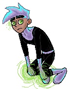 Danny Phantom Pixel by Olive-and-an-Arrow