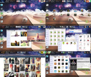 Screenshot - September 2013 - Desktop by evildarklxs