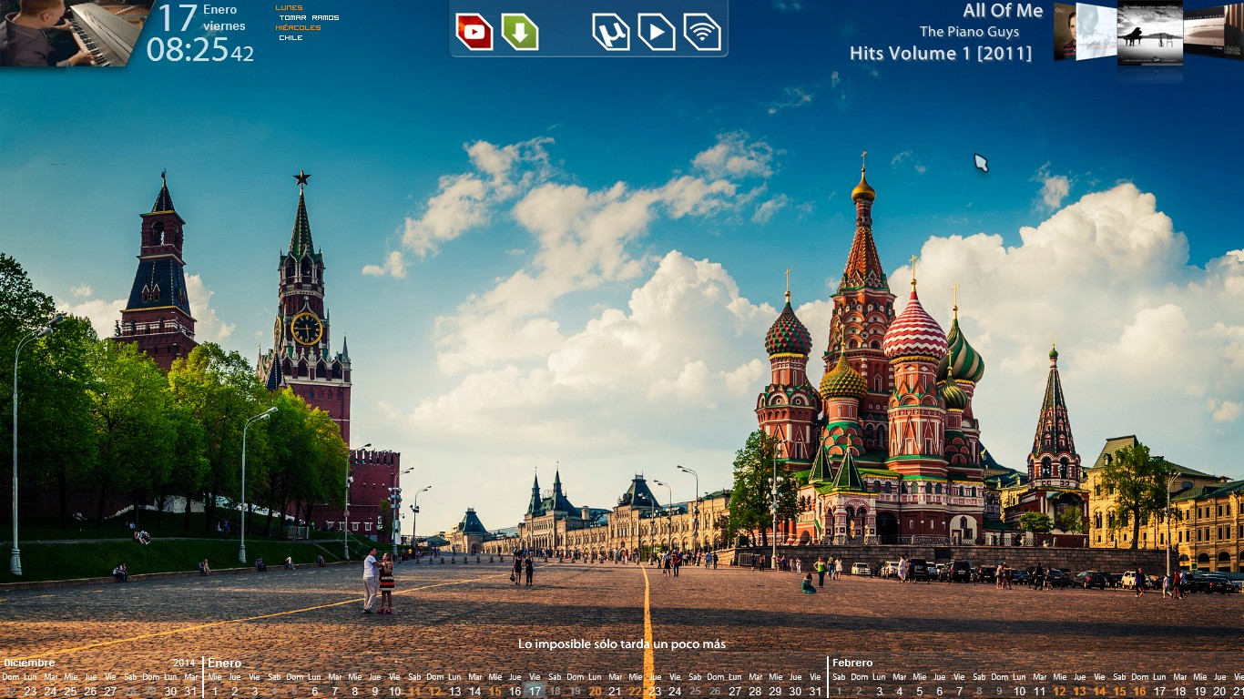 Screenshot - January 2014 - Desktop v2 by evildarklxs