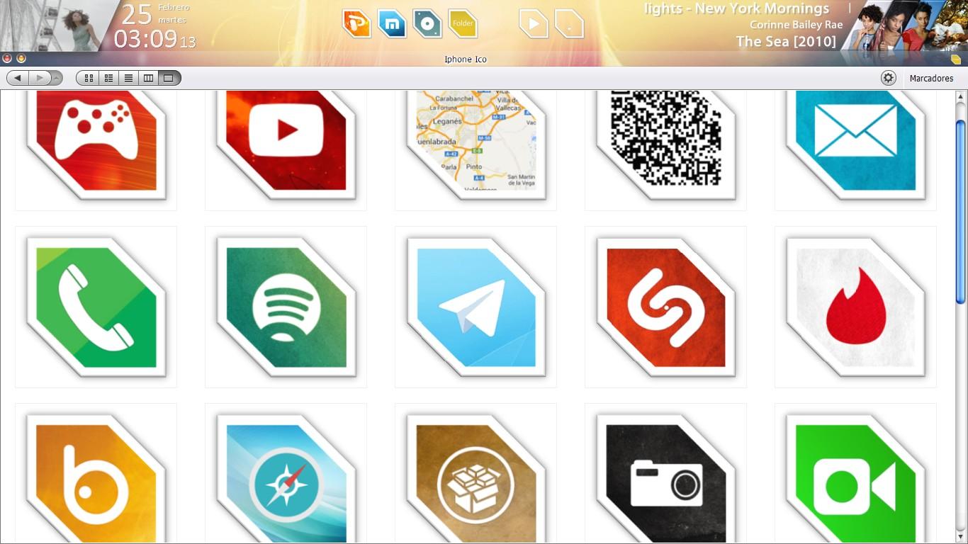 Screenshot - February 2014 - Desktop v2 by evildarklxs