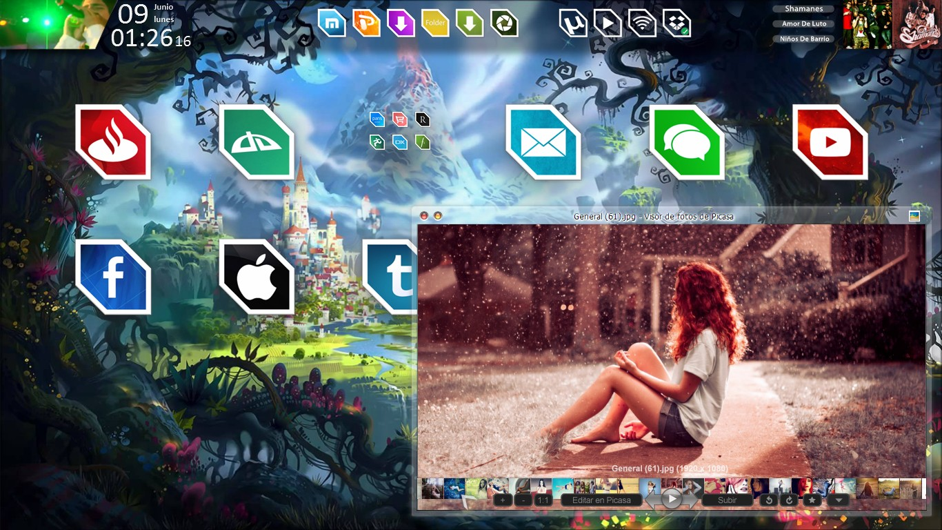 Screenshot - Juny 2014 - Desktop v1 by evildarklxs